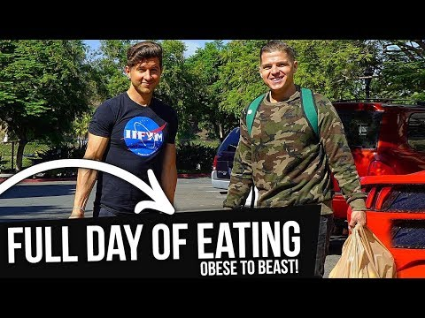 Full Day of Eating with Obese to Beast! (John David Glaude)