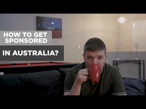How To Get Sponsored In Australia? - I Did It!