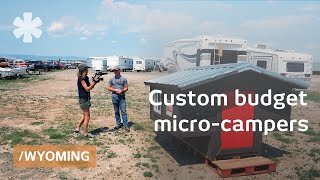 Wyoming Students Make Custom Micro-campers To Live & Sell