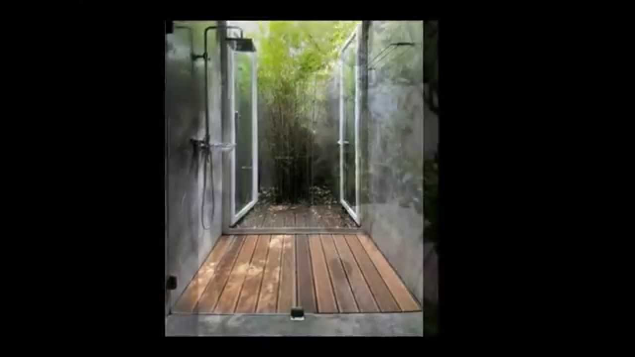 indoor garden and outdoor bathroom ideas - youtube