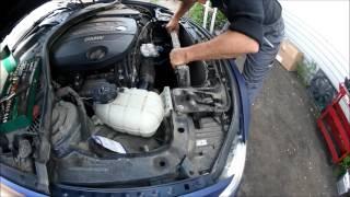 Мойка радиаторов на BMW F30