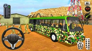 Army Bus Driver 2021 - Real Military Coach Simulator - Android Gameplay screenshot 3