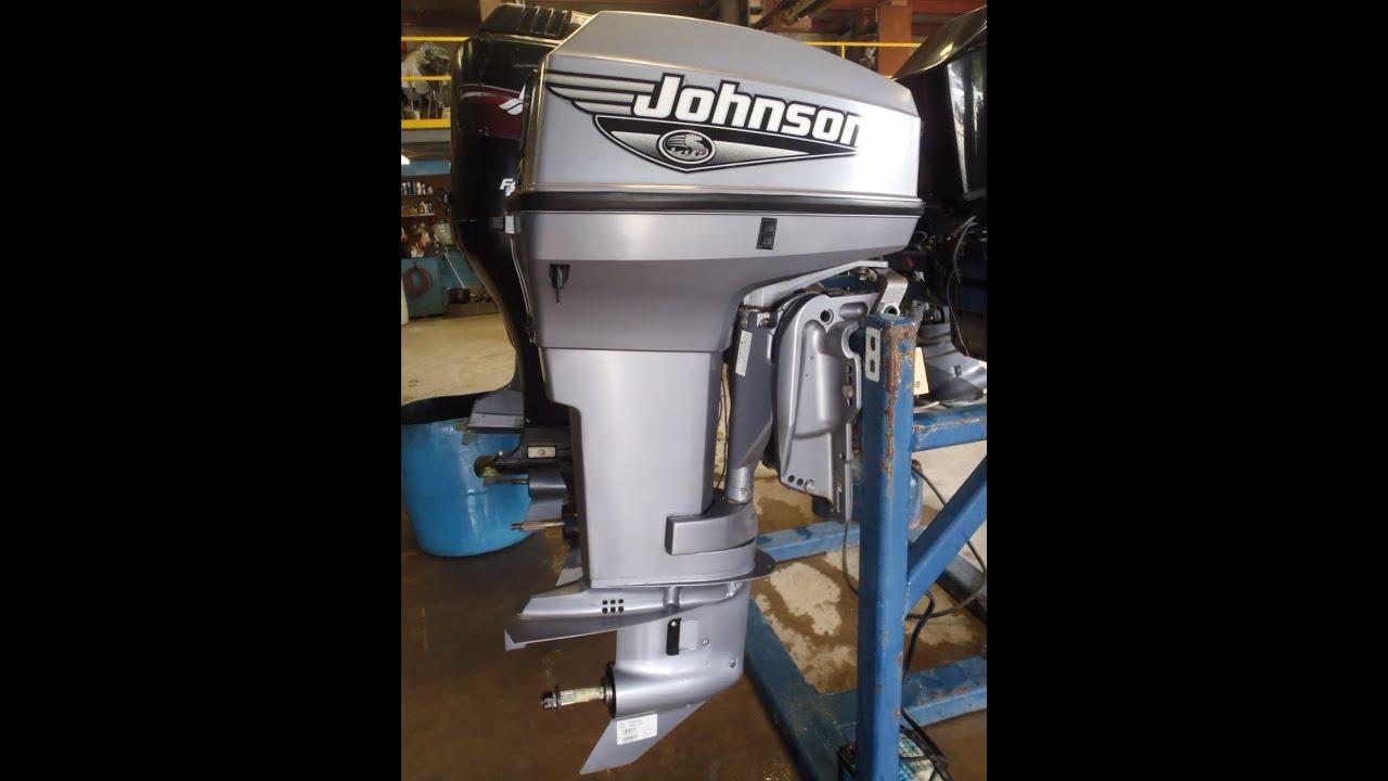 2000 Johnson J50PLSSM 2-Stroke Outboard Boat Motor 20