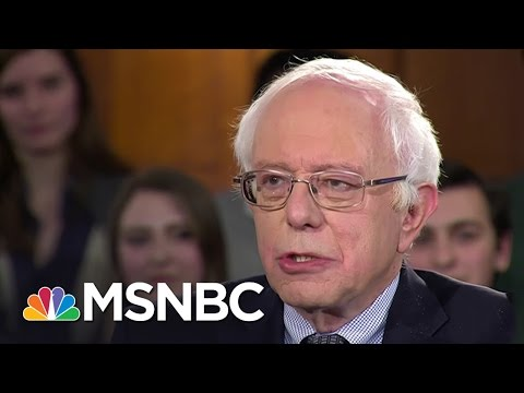 Bernie Sanders Takes Firm Stance On Foreign Policy | Hardball | MSNBC