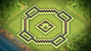 """Easy To Copy """"BEST"""" Town Hall 7 (Th7) Trophy/War Base 2016   Popular Donut Base Layout   CoC"""