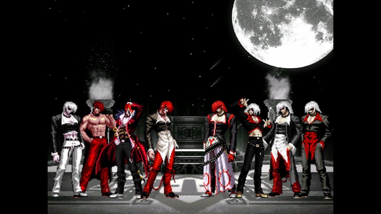 [KOF MUGEN]Orochi Iori Team VS Element Iori Team