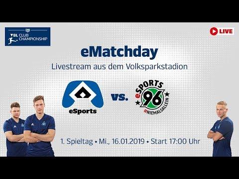 Relive Ematchday Vbl 1 Spieltag Hsv Vs Hannover 96 Youtube