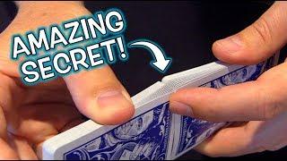 Secret Card Shuffling TRICK!  PUT ALL BACK IN ORDER!!