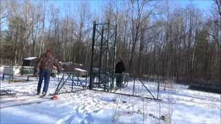 Building A Rugged Wind Turbine Tower With Free Materials
