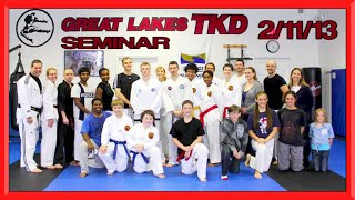 Taekwondo Seminar in Michigan, USA 🇺🇸 Ginger Ninja Trickster