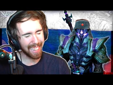 RUSSIA Hacks Asmongold's First Ever EU Transmog Competition