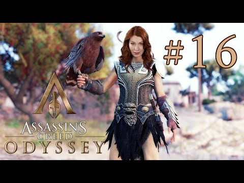 Felicia Day plays Assassin's Creed Odyssey! Part 16!