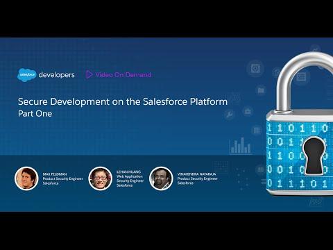 Secure Development on the Salesforce Platform - Part 1