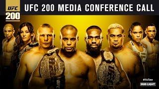 UFC 200: Cormier vs. Jones 2 Media Call