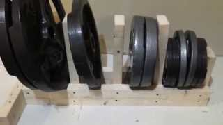 Diy Build An Olympic Weight Rack