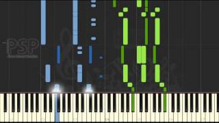 [ Piano Solo Tutorial ] Final Fantasy XV - Hellfire (FF15 PS4 GAME synthesia)