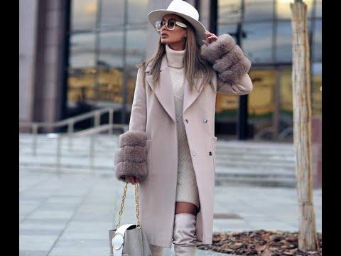 Красивые пальто с мехом  2019-2020 - Beautiful Coat With Fur 2019-2020
