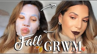 ♡ GRWM comme AVANT 🍁*Hair, Makeup, Outfit*