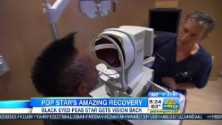 Dr. Brian Boxer Wachler Treats Apl.de.ap On Good Morning America