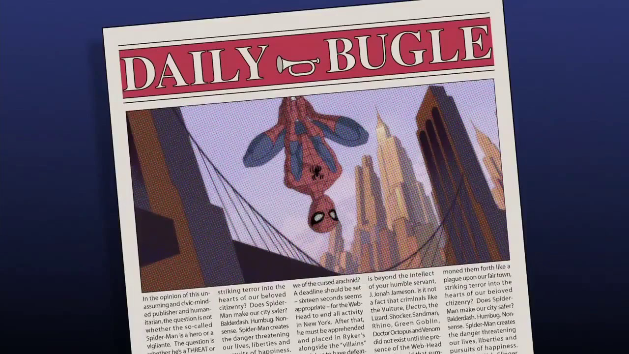 Download The Spectacular Spider-man Season 1 Intro