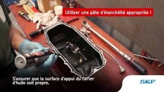 Cette vidéo est consacrée au montage du système de chaîne de distribution sur une Opel Corsa