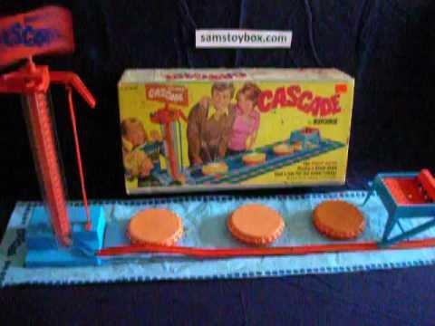 1972 Matchbox Cascade Game Samstoybox Youtube
