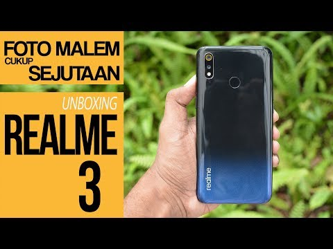 REALME 3 Unboxing + Nightscape Test - Indonesia
