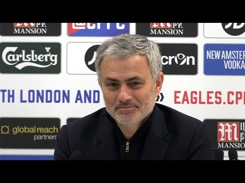 Crystal Palace 1-2 Manchester United - Jose Mourinho Full Post Match Press Conference