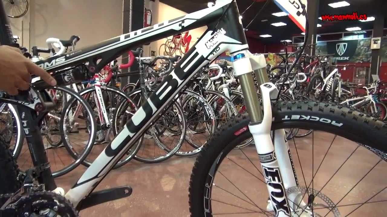 Bicicletas CUBE en Mammoth - YouTube
