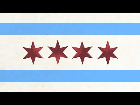 Chicago Flag Animation/Video Transition