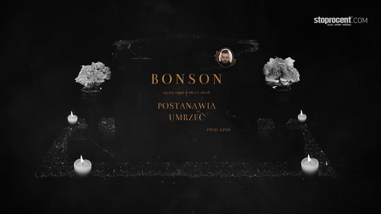 Bonson feat. Marysia Starosta –  W dół (prod. KPSN)