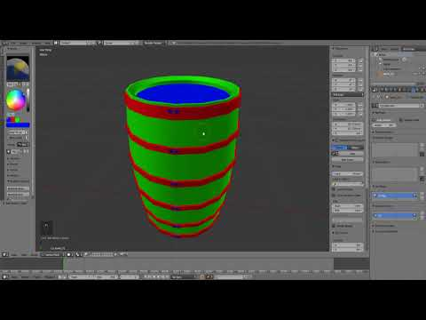 Material Optimization using Color ID Maps (Blender/Unity/Substance Painter 2)