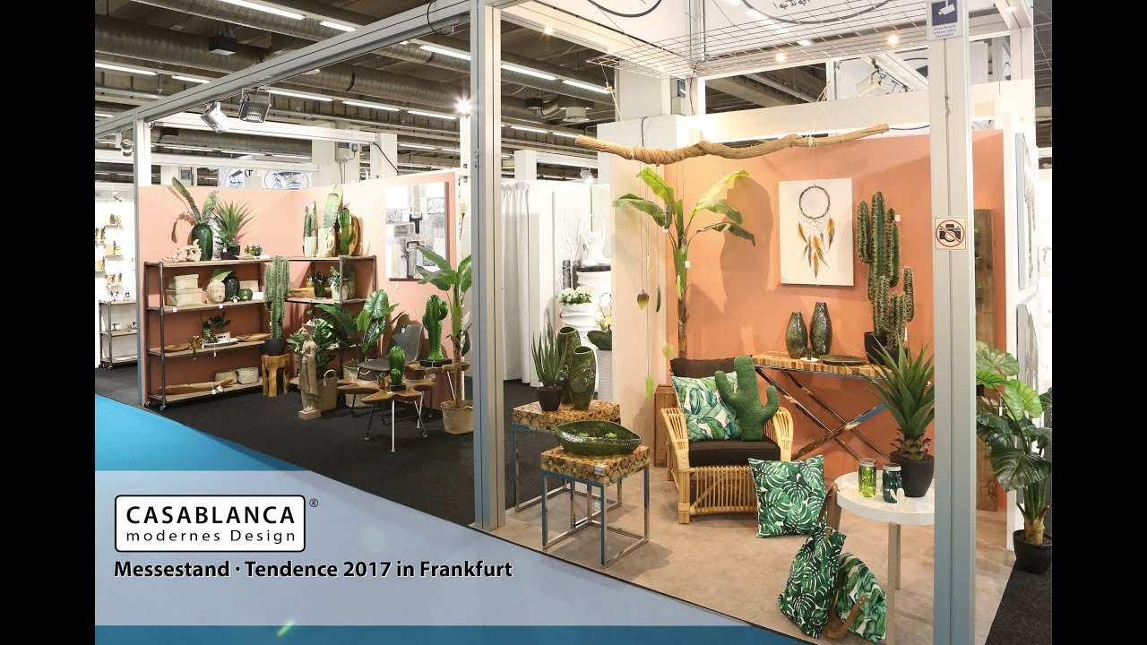 Casablanca Modernes Design casablanca design - tendence 2017 in frankfurt - youtube