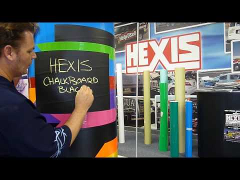 Hexis Blackboard / Chalkboard Adhesive Vinyl