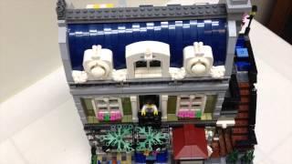Lego Creator Parisian Restaurant Review, Set 10243