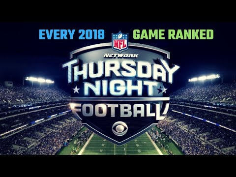 ranking-every-2018-thursday-night-football-match-up