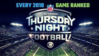 Ranking Every 2018 Thursday Night Football Match Up