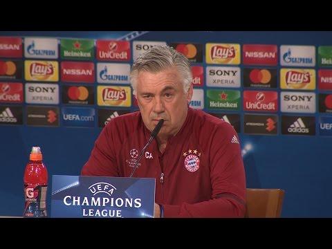 Ancelotti confía en que Lewandowski juegue mañana