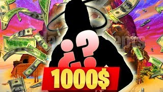 CETTE PEAU FORTNITE VA COÛTER 1000 $ - AlphaSniper97