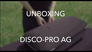 Tutorial Disco-Pro AG #1 - Unboxing