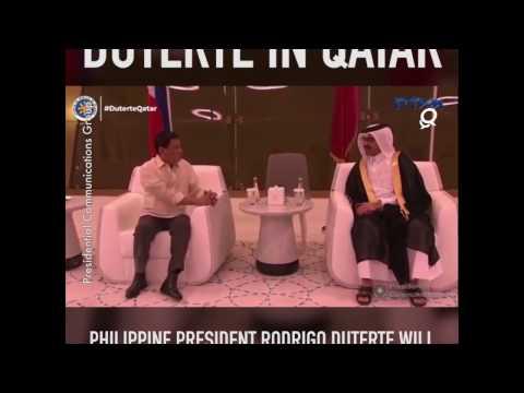 Duterte in Qatar!