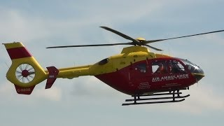 Thames Valley and Chiltern Air Ambulance at Abingdon 4th May 2014