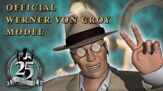 Official Werner Von Croy Model (Animation) Tomb Raider The Last Revelation