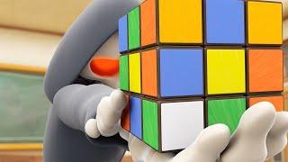 Funny Animated Cartoon | Spookiz | The Rubik's Cube Challenge | 스푸키즈 | Cartoon For Children