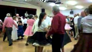 Awesome Modern Western Style Square Dancing in Arizona 2011