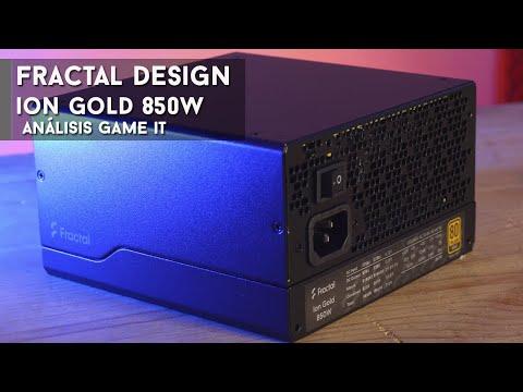 Fractal Design Ion Gold #850W review y unboxing   GameIt ES