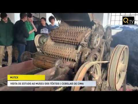 Visita de Estudo ao Mutex - Museu dos têxteis
