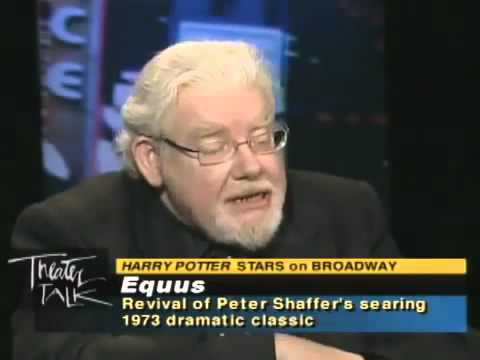 Theater Talk -  Actors Daniel Radcliffe and Richard Griffiths on Equus