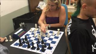 Blindfolded GM Timur Gareyev vs. USCF 1750 Rating David Blitz Game #2