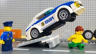 Lego Police School Bank Robbery Fail